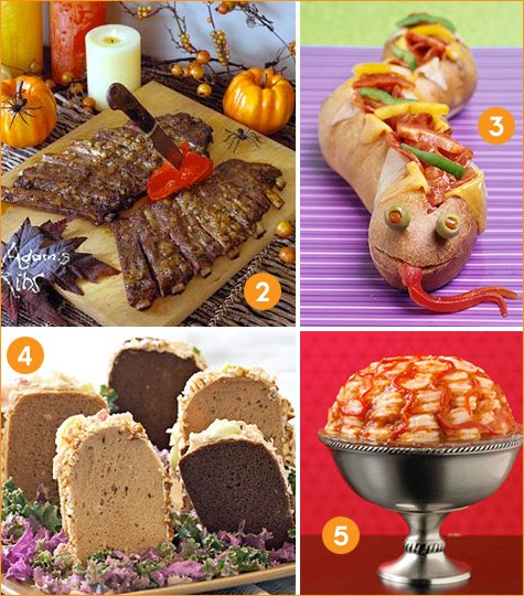 Halloween Themed Birthday Party Food Ideas.Creative Halloween Dinner Ideas Hostess With The Mostess