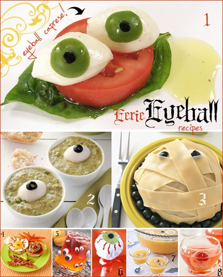 eyeball halloween recipes