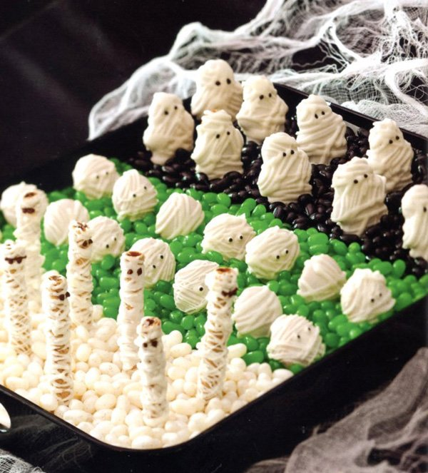 Mummy themed Halloween Party ideas