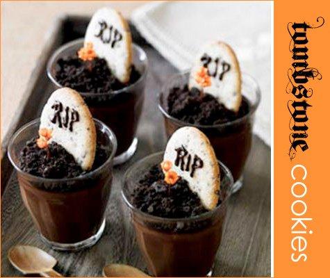 halloween tombstone cookies recipe