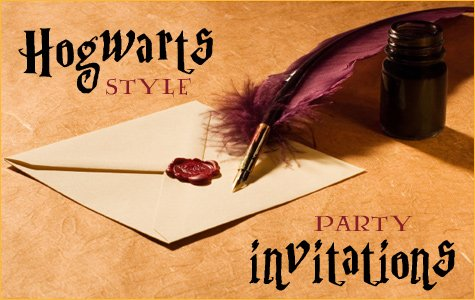 Harry Potter Birthday Party Ideas Part 1 Hostess With The MostessR