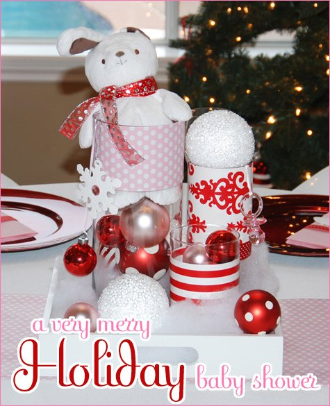 holiday baby shower