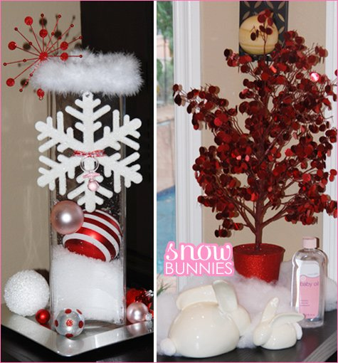 a very merry baby shower - Christmas Themed Baby Shower