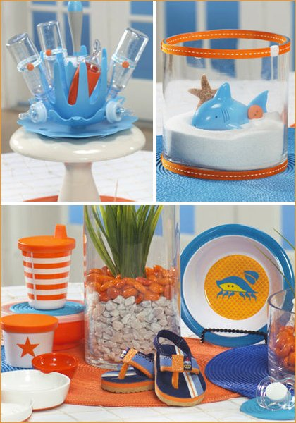 hostess with the mostess - beach baby shower