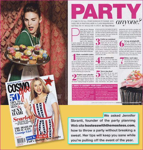 cosmo girl press feature