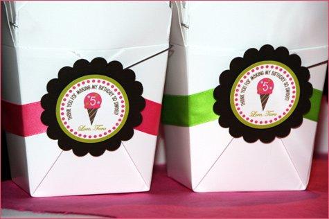 ice cream shoppe birthday party ideas