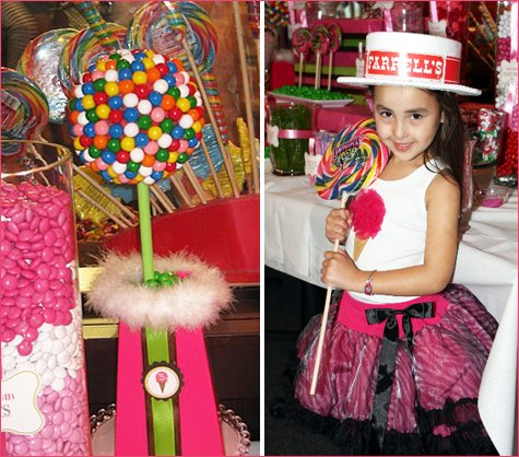ice cream shoppe birthday party ideas