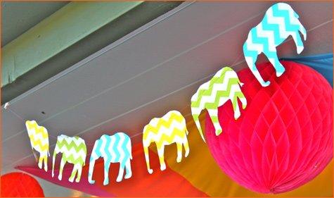 Indian Elephant birthday party ideas