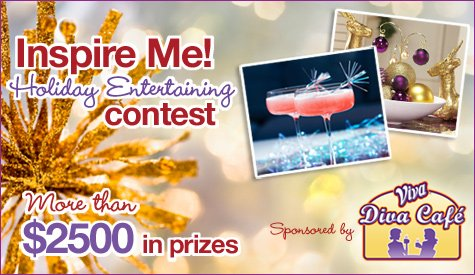 inspire me! holiday entertaining contest