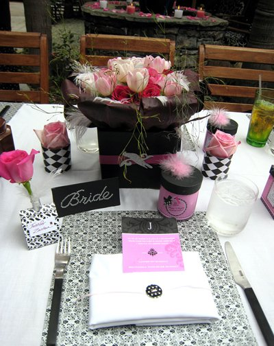 Bridal Shower: Modern Paris