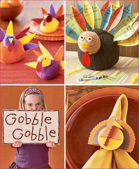 kids Thanksgiving craft ideas