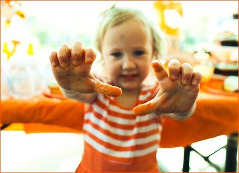 orange kite birthday party ideas