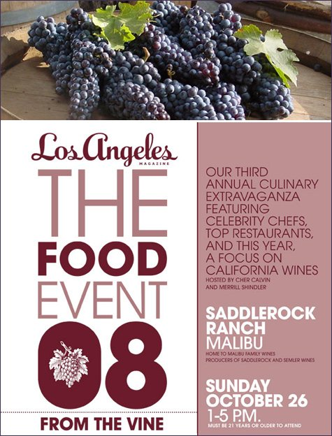 los angeles food and wine event