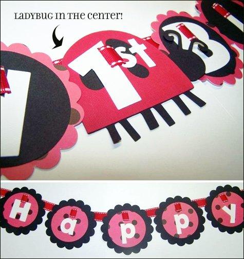 ladybug birthday valentines party ideas