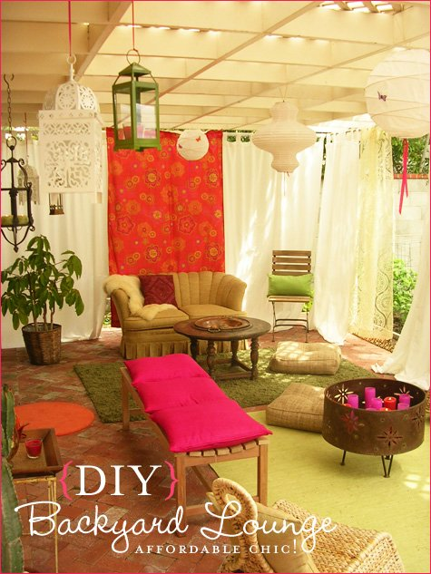 lilygirl jewelry - backyard lounge party