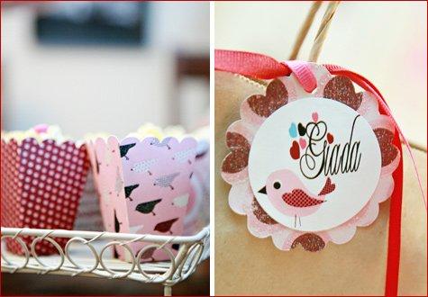 Love Birds party theme ideas