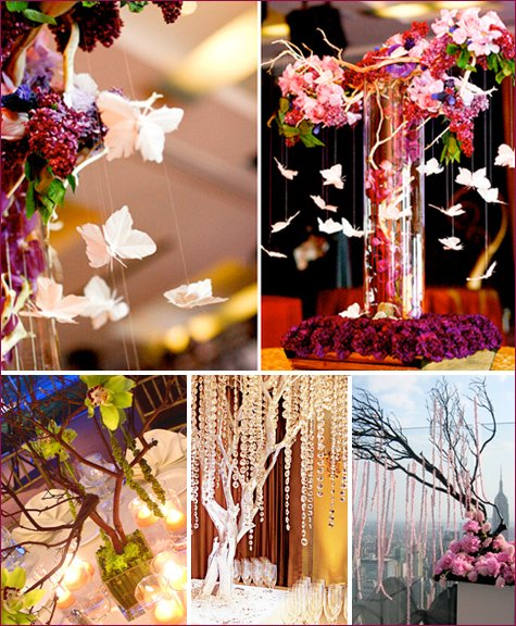 manzanita centerpiece ideas
