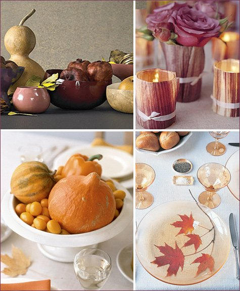 modern and elegant thanksgiving table ideas
