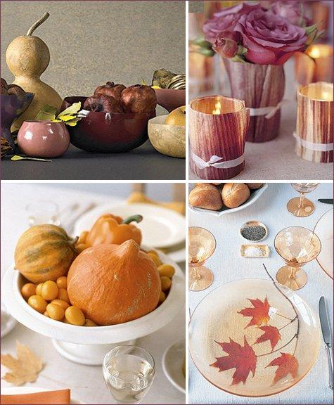 modern and elegant thanksgiving table ideas