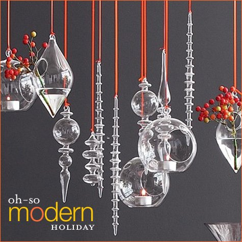modern finial ornaments
