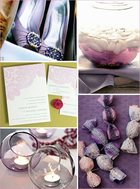purple lavender gray inspiration board