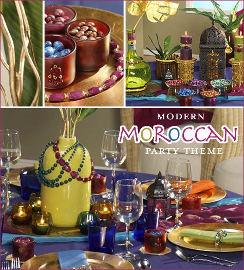 Moroccan party theme ideas