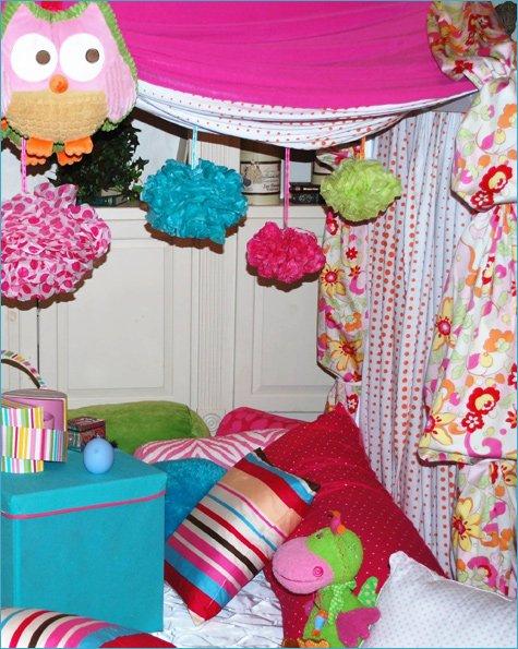 Night Owl Pajama Slumber Party Ideas