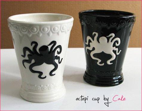 octopus cups