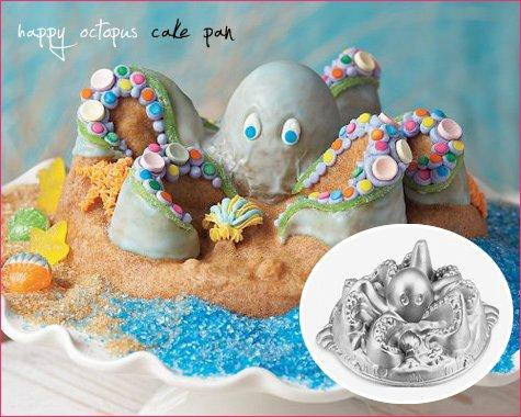 Octopus Bundt Cake Pan