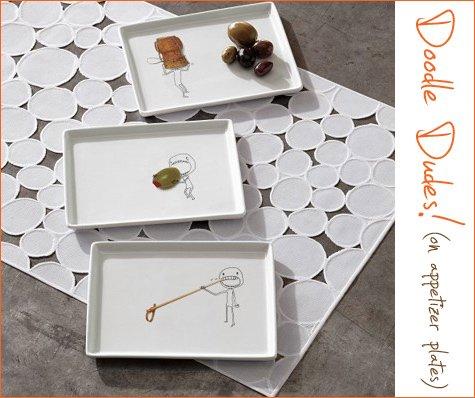oliver appetizer plates