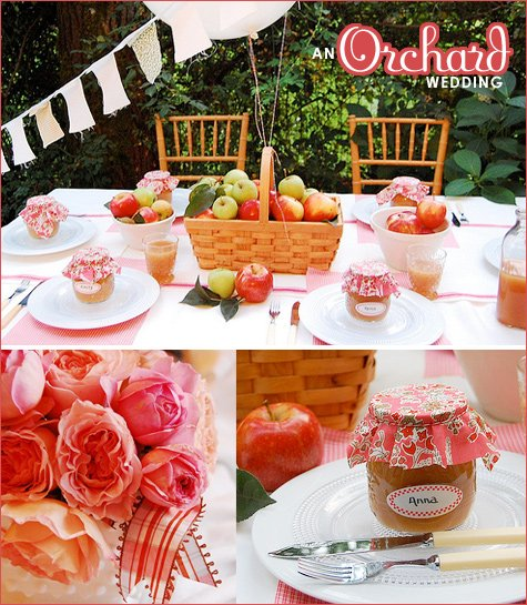 once wed - orchard wedding
