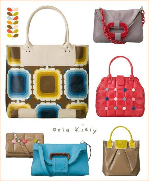 orla kiely hand bags