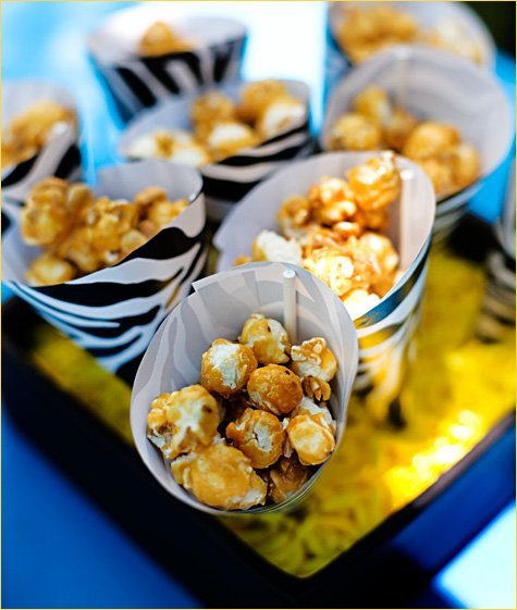 paper treat cones DIY