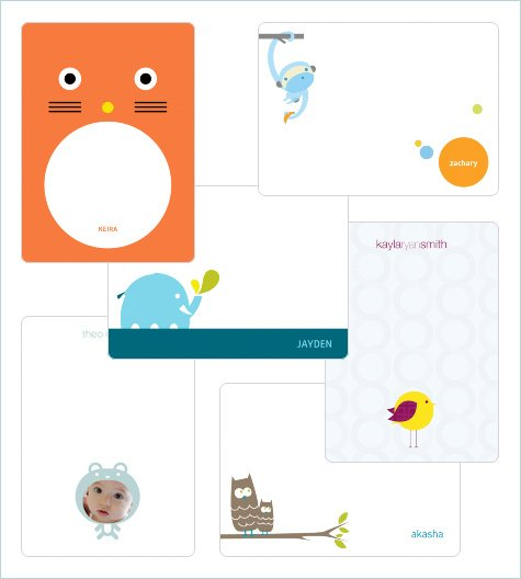 modern baby shower invitations