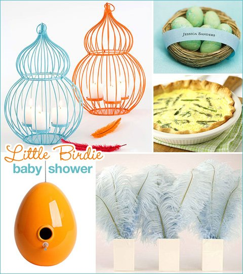 Little Birdie Baby Shower