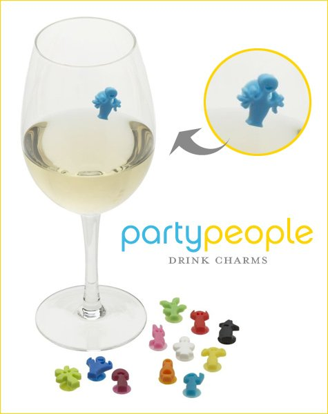 modern drink markers charms