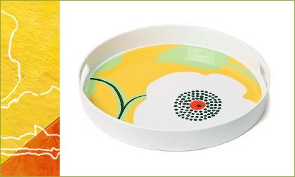 modern melamine plates