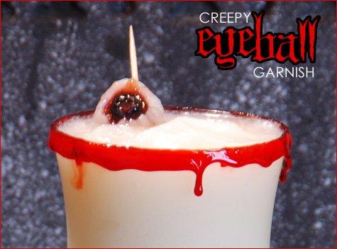 Halloween cocktail - pina ghoulada