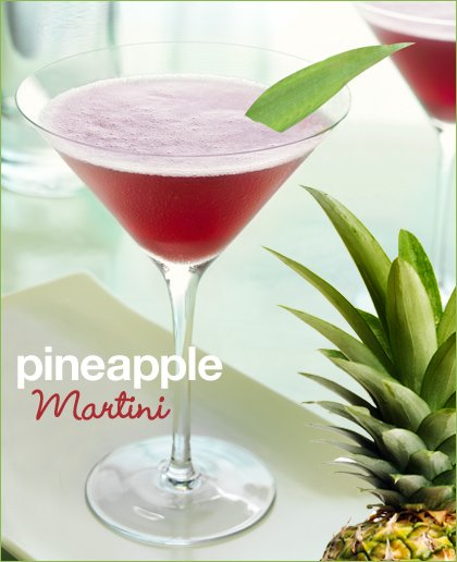 chambord pineapple martini recipe