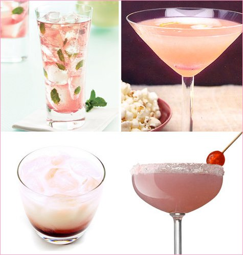pink cocktail recipes
