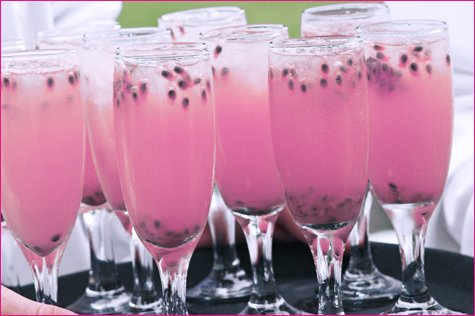 pink drink: strawberry blonde