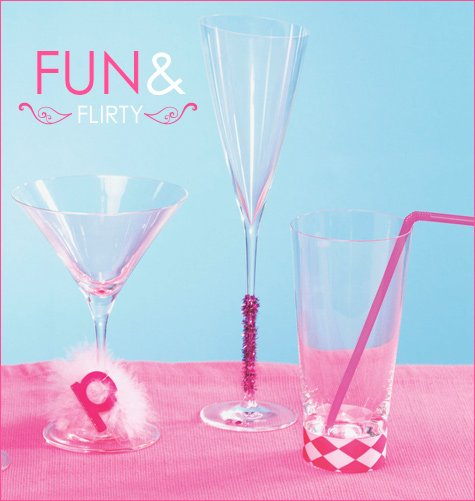 decorate cocktail glassses