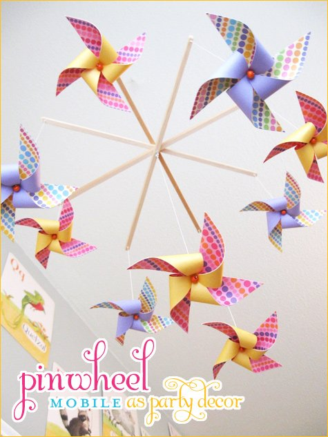 pinwheel party ideas