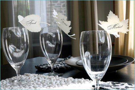 creative wedding place cards