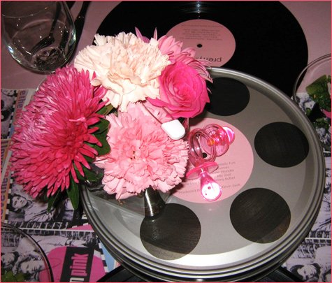 Pretty in Pink - 80's Inspired Baby Shower