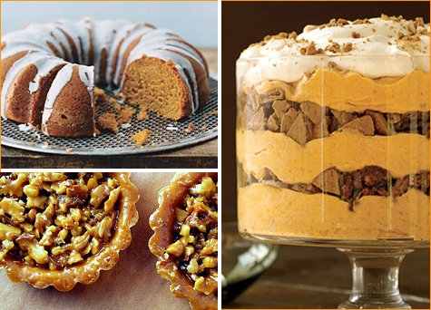 thanksgiving pumpkin desserts