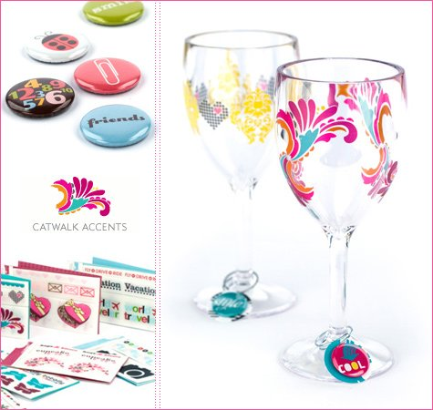 wine glass embellishments