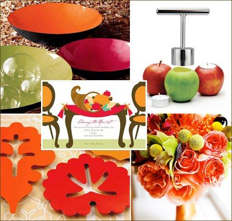 modern Thanksgiving decoration ideas