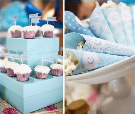 something blue bridal shower ideas