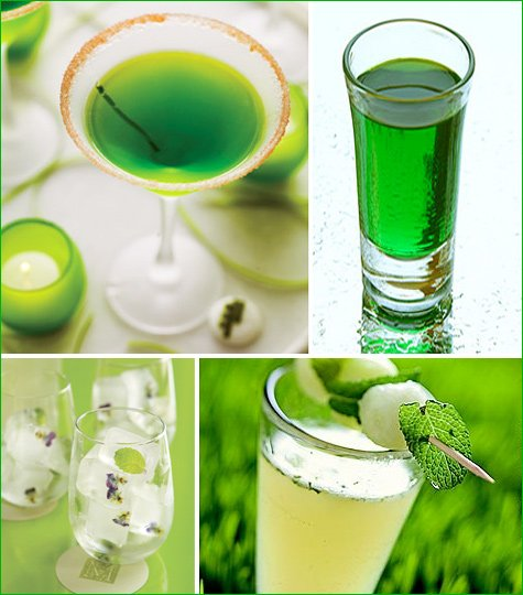 spring green cocktails